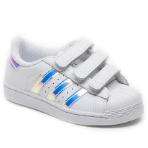 Adidas Iridescent Superstar Trainer SUPERSTAR VELCRO