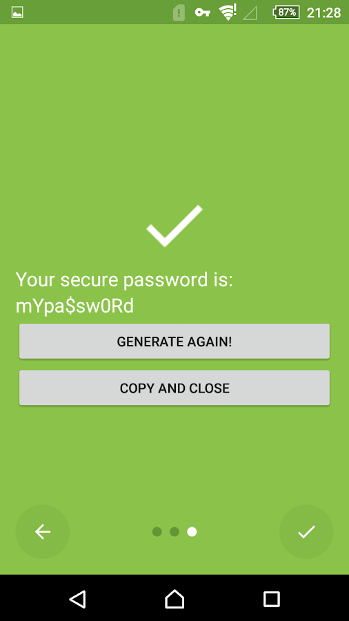 Puff Password Manager- screenshot