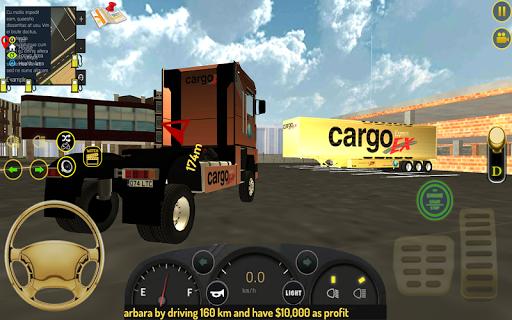 Truck Gold Transport Simulator Full of Truck Drive 1.3 screenshots 2
