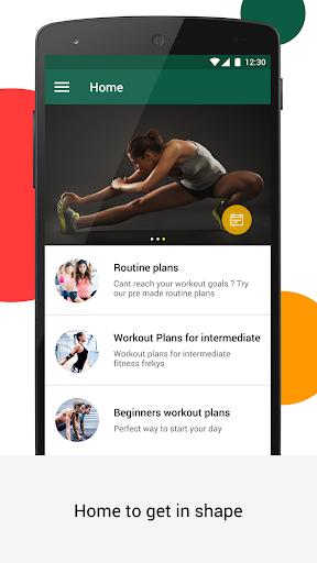 Tirumeni - workout buddy in home & gym screenshot 1