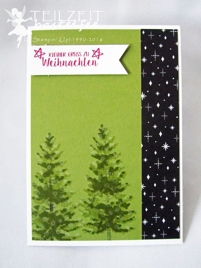 Stampin' Up! - In{k}spire_me, Color Challenge, Tage wie Weihnachten, Season like Christmas, Merry little Christmas DSP