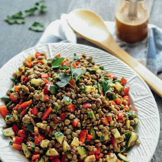 Balsamic Lentil Salad.