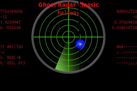 Ghost Radar®: CLASSIC screenshot 1