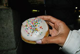 Photo: Makeshift birthday cake. #timhortonlovers