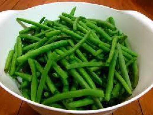 In medium bowl add dill and green beans  In saucepan add remaining pickling ingredients, cook...