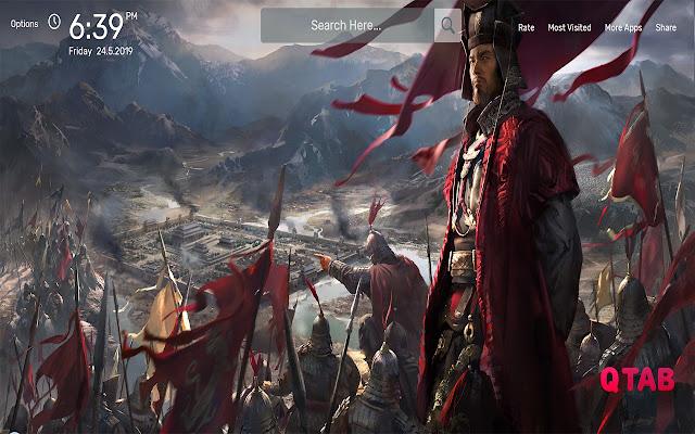 Total War Three Kingdoms Wallpapers HD Theme