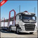 Vehicle Transport Trailer icon
