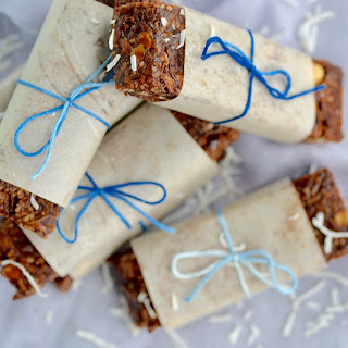Chewy Almond Coconut Granola Bars