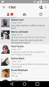 Sid - Secure Team Messenger screenshot 0