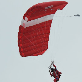 Parachute Jump #1 by Koh Chip Whye - Sports & Fitness Other Sports