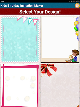 Download kids birthday invitation maker by sendgroupsms bulk sms kids birthday invitation maker by sendgroupsms bulk sms software poster stopboris Gallery