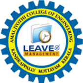 AJCE Leave Management System
