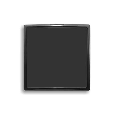 DEMCiflex magnetisk filter 300mm, firkantet, sort