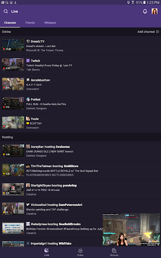 Screenshot 9 for Twitch.tv's Android app'