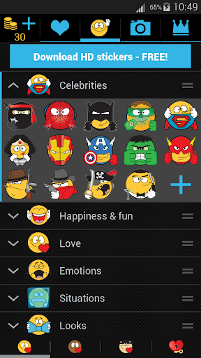 Emojidom: Chat Smileys & Emoji - Android Apps and Tests ...