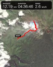 Photo: Ruta al cráter – a pata
