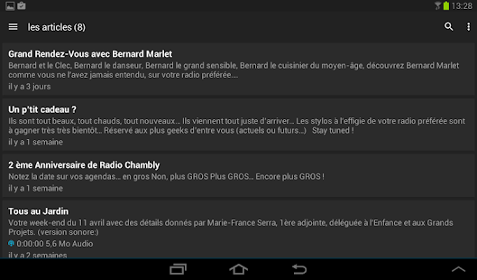 Radio Chambly- screenshot thumbnail