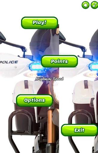 Police Motorcycles City Patrol