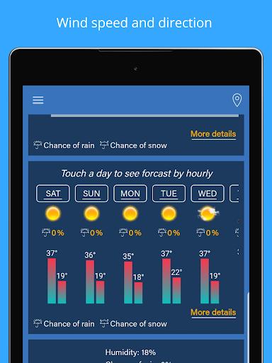 Weather Forecast - Weather Radar & Weather Widget screenshot 13