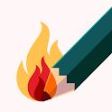 Sketch on PDF icon