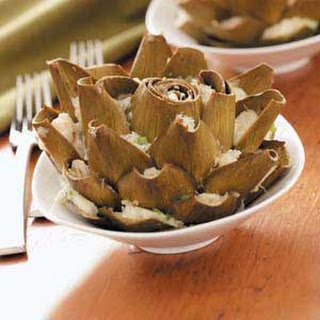 Crab-Stuffed Artichokes Recipe
