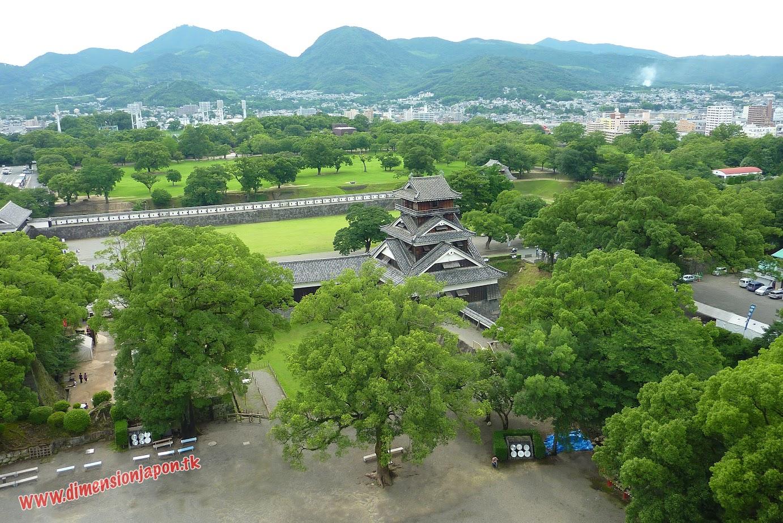 CIMG1487 Desde el Interior del castillo de Kumamoto (Kumamoto) 15-07-2010