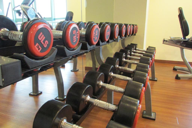 Gym at West Coast Road Apartments, Clementi