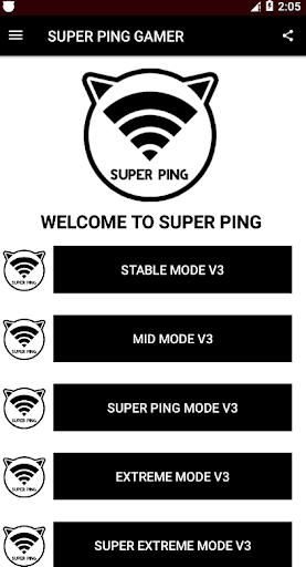 SUPER PING - Anti Lag For All Mobile Game Online screenshot 2