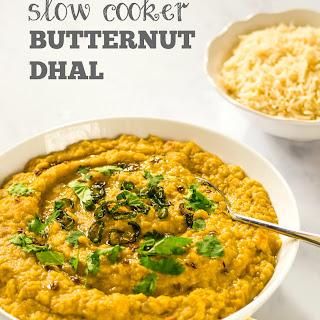 Slow Cooker Butternut Dhal Recipe