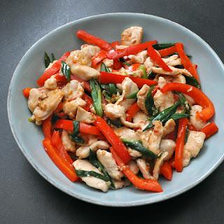 Sambal Chicken Stir-Fry.