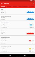 Screenshot of YouTube Creator Studio
