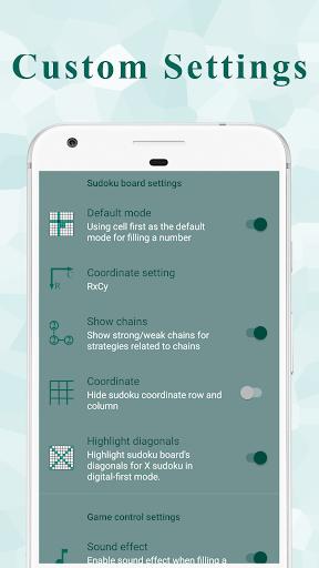 Ninja Sudoku - Logical solver, No ads while gaming 1.7.0 screenshots 7