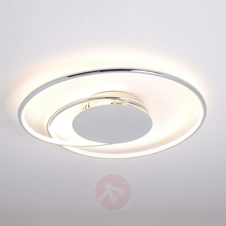 13 propozycji stylowych lamp sufitowych LED do salonu