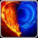 Love theme Wallpaper HD free icon