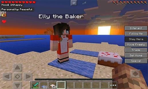 Minecraft PE 0.14.0: Comes Alive Mod - MCPE - YouTube