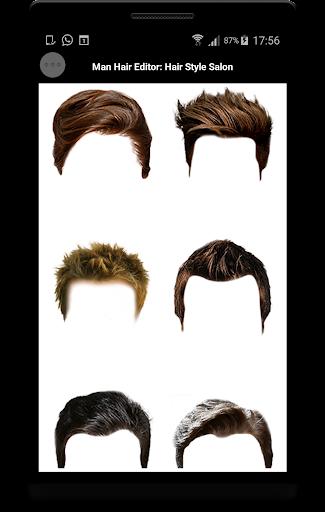 Man Hair Editor : Hair Style Photo Maker  screenshots 6