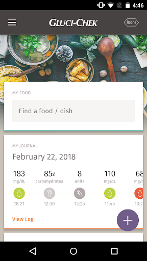 Download Gluci-Chek: diabetes and carbs 2.1.5 1