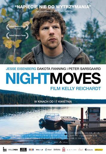 Polski plakat filmu 'Night Moves'