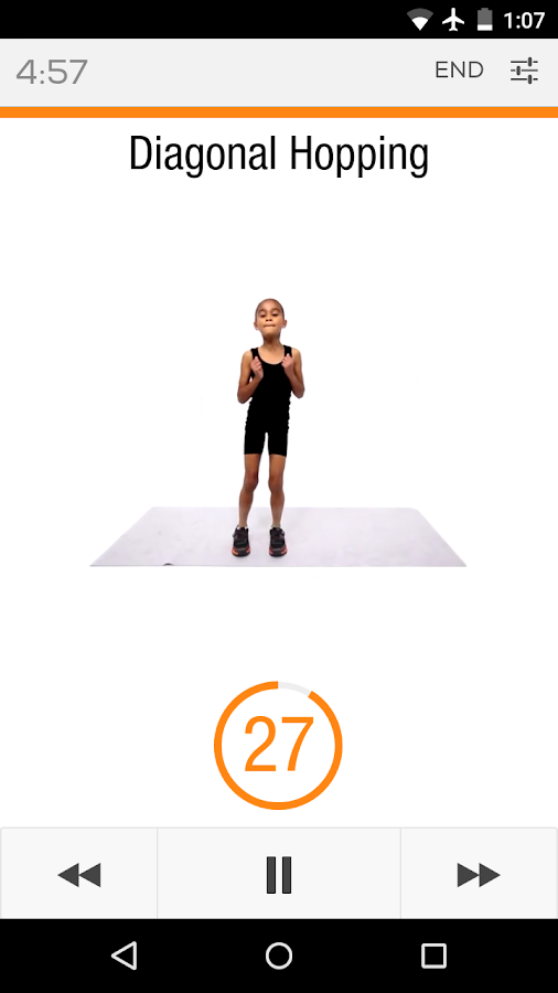 Sworkit Kids - Fitness Meets Fun- screenshot