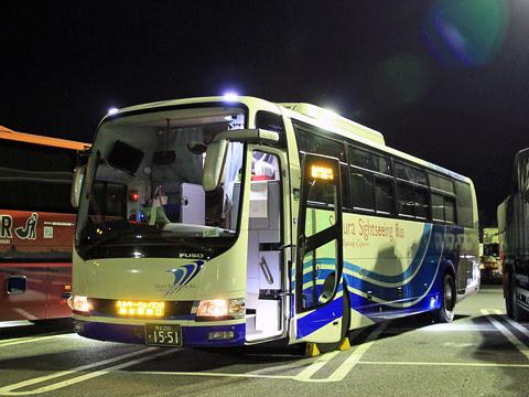さくら観光バス「ミルキーウェイエクスプレス」CJ305便 1551