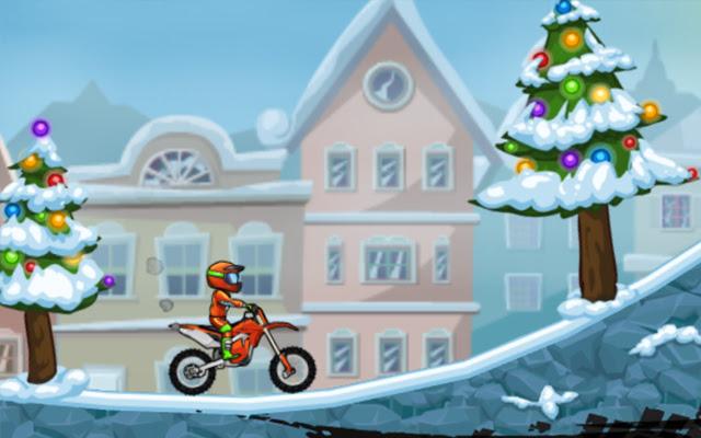 Moto X3M 4 Winter Game