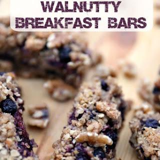 Triple Berry Walnutty Breakfast Bars