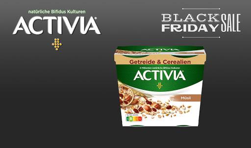 Bild für Cashback-Angebot: Black Friday: Activia Getreide & Cerealien - Activia