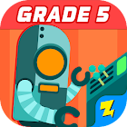 5th Grade Math: Fun Kids Games - Zapzapmath Home icon
