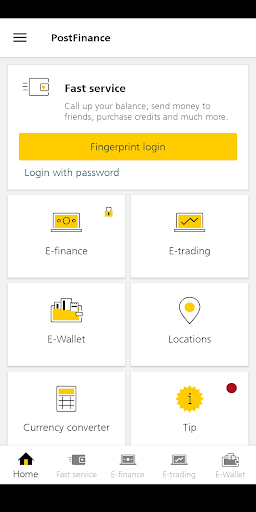 PostFinance Mobile screenshot 1