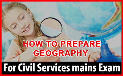 Seminar on How to prepare for Geography For UPSC Mains