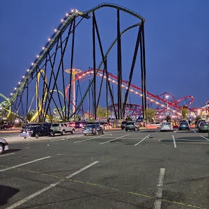 Leisure and amusement park - Six Flags Great Adventure