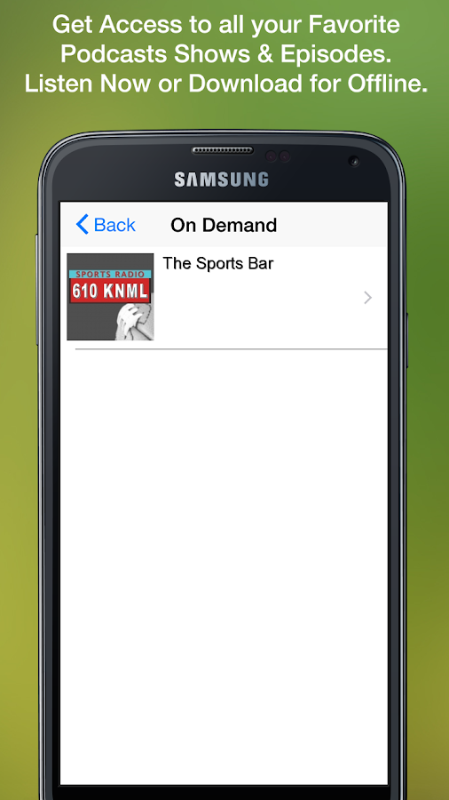 Sports Radio 610 KNML- screenshot
