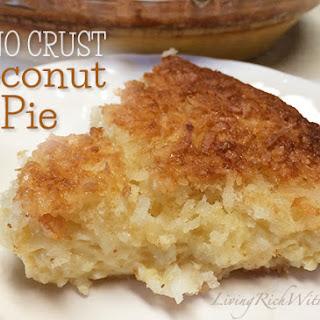 No-Crust Coconut Pie