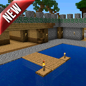 Fishing Frenzy map for MCPE